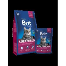 Brit Premium Cat Adult Chicken 8 кг.
