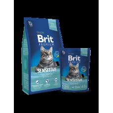 Brit Premium Cat Sensitive 8 кг.